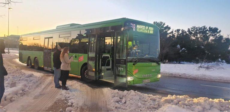 Se pone en marcha la línea de autobús 519 con dirección a Móstoles