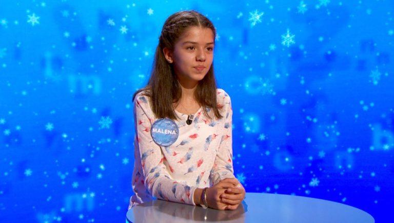 Malena gana en el concurso de Pasapalabra