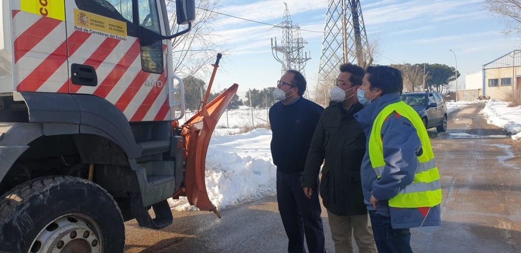 El alcalde toma medidas ante el temporal de nieve