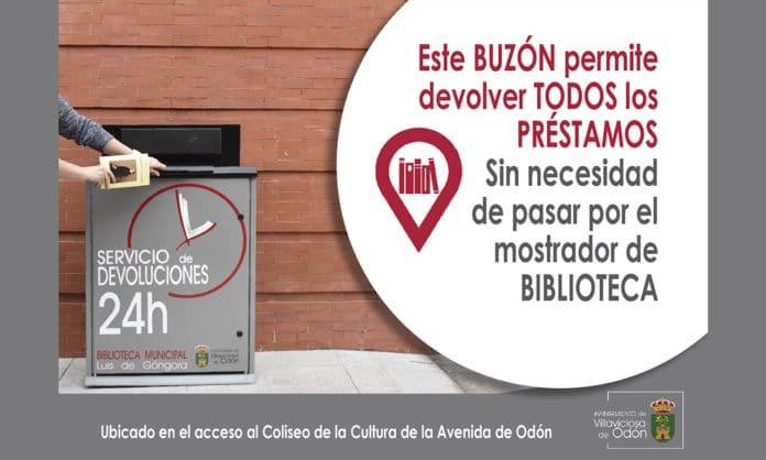 Servicio de devolución Biblioteca municipal Villaviciosa