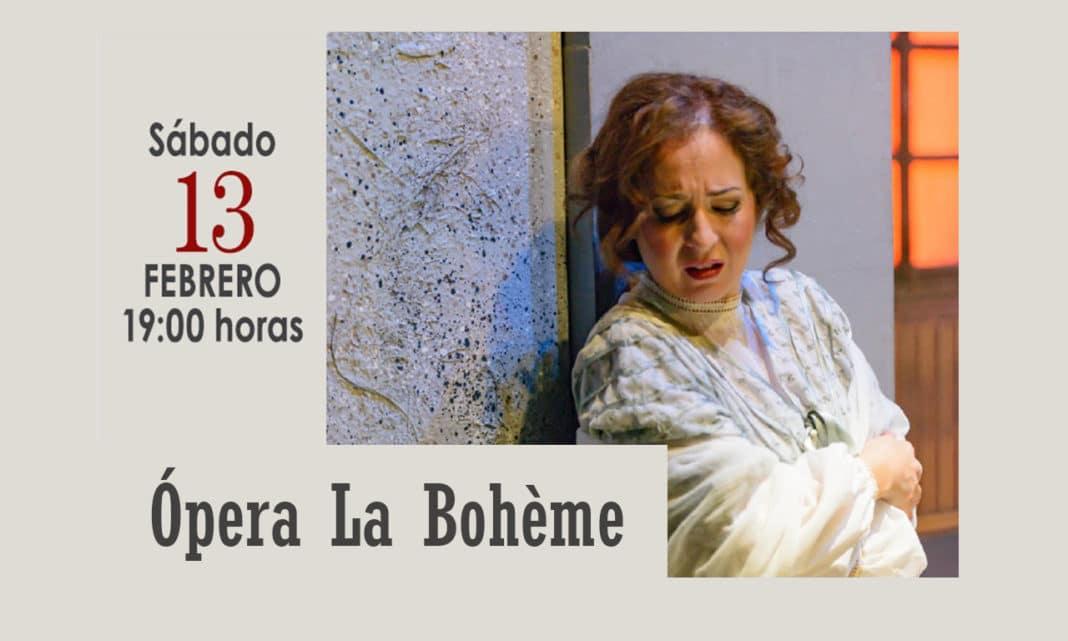 Ópera La Bohème Villaviciosa