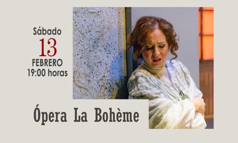 Ópera «La Bohéme», este sábado en el Coliseo