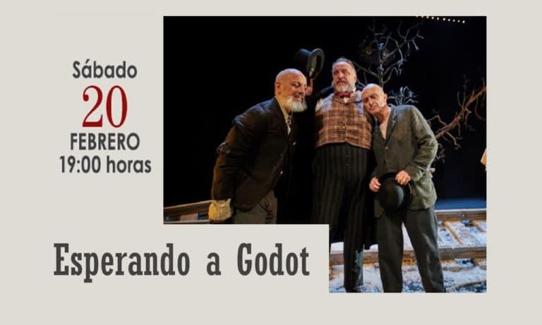La obra teatral «Esperando a Godot», este sábado en el Coliseo