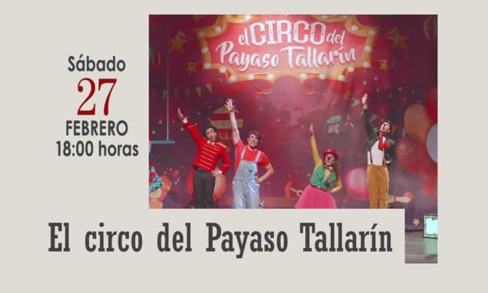 El circo del Payaso Tallarín en el Coliseo
