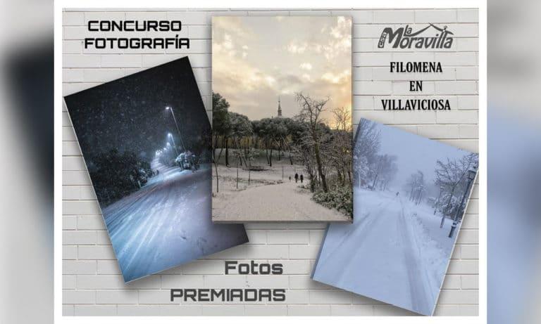 Estas son las fotografías seleccionadas en el I Concurso de Fotografía «Filomena en Villaviciosa»