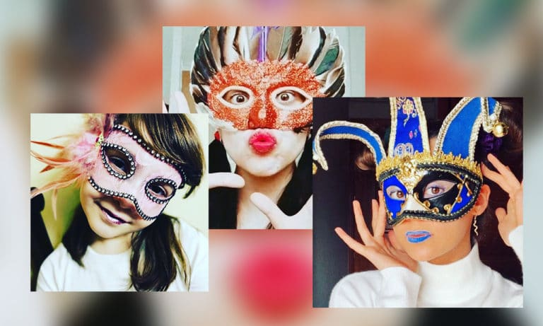 Llega el concurso de máscaras venecianas