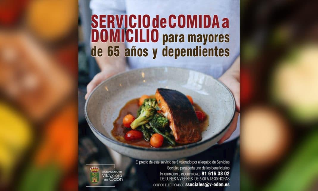 Servicio comida a domicilio Villaviciosa