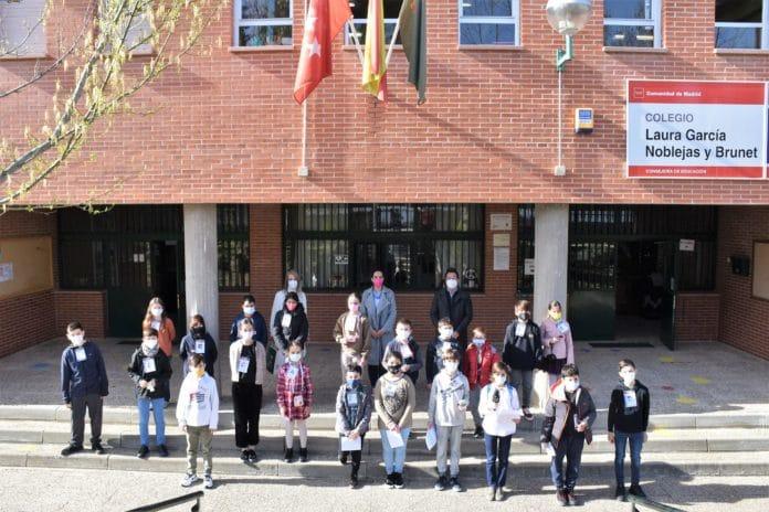 Colegio Laura García Noblejas medidores CO2