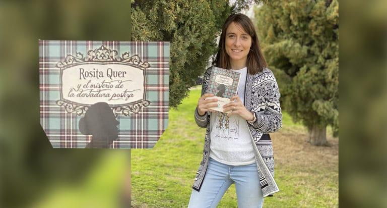 La villaodonense Sara Sánchez publica su primera novela «Rosita Quer y el misterio de la dentadura postiza»