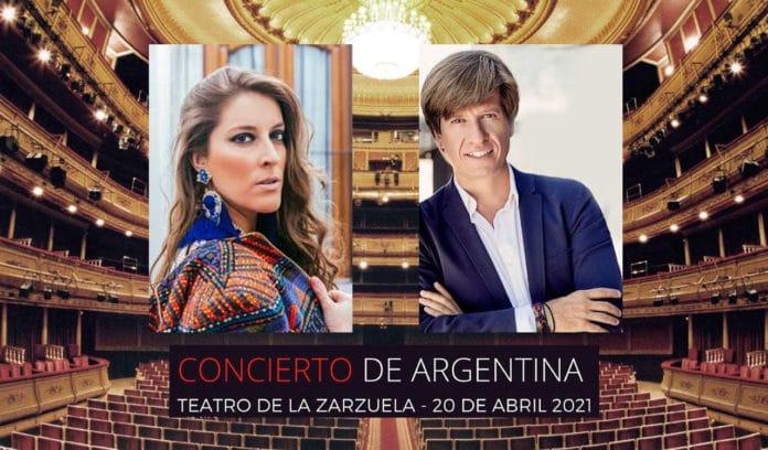 Concierto Argentina y Mario Prisuelos Teatro de la Zarzuela