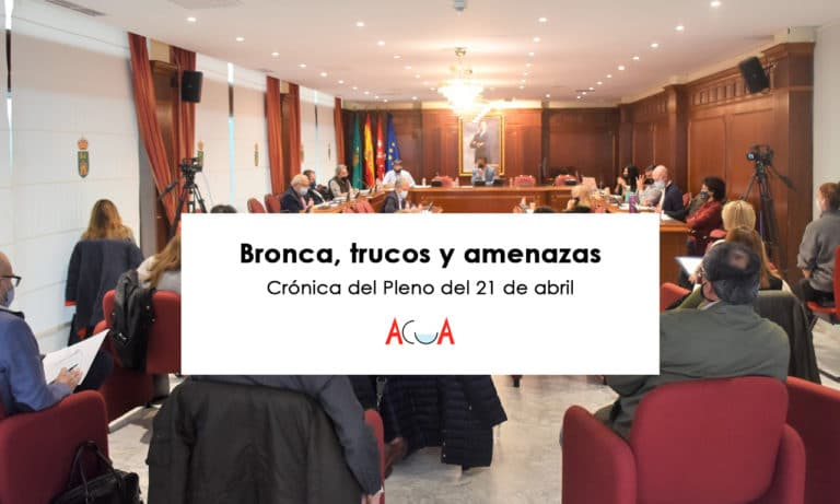 Crónica resumen del último Pleno municipal