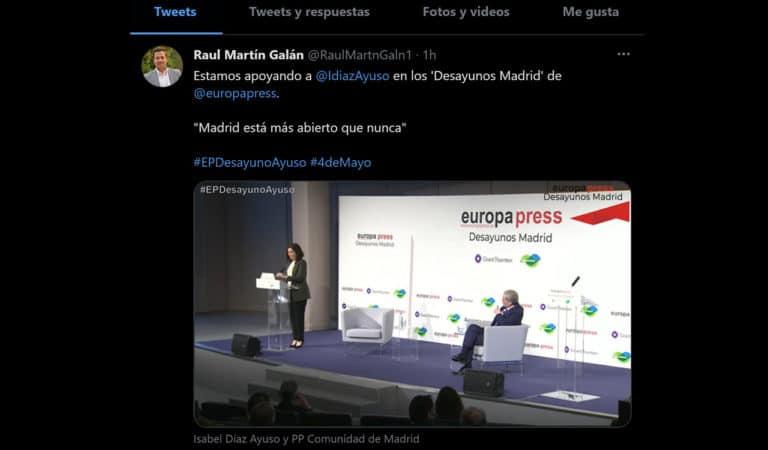 El alcalde «desayuna» en Madrid el día que Villaviciosa amanece confinada