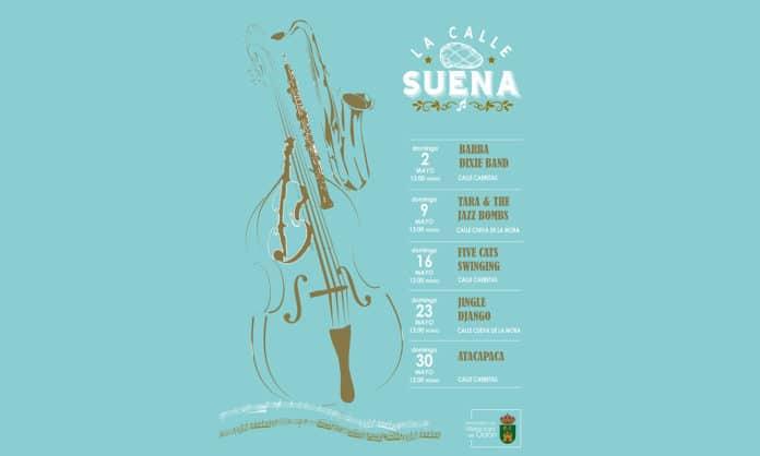 La calle suena conciertos en Villaviciosa mes de mayo