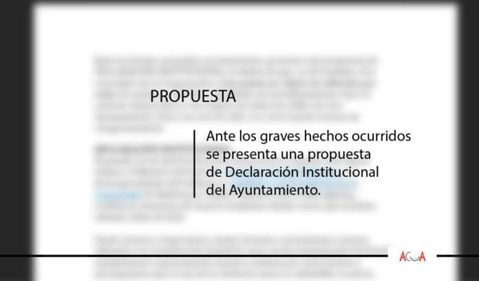 Propuesta Declaración Institucional Más Madrid