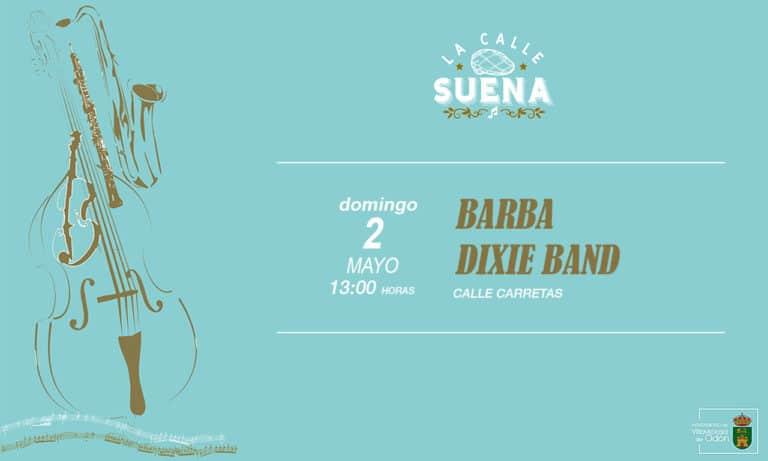 Llega «Barba Dixie Band», este domingo en Villaviciosa