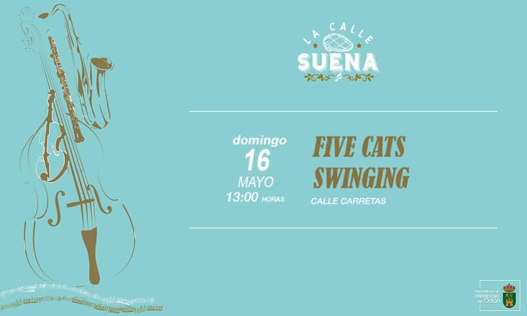 concierto 5 cats swinging Villaviciosa