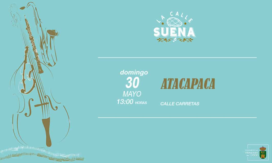 concierto Ataca Paca Villaviciosa