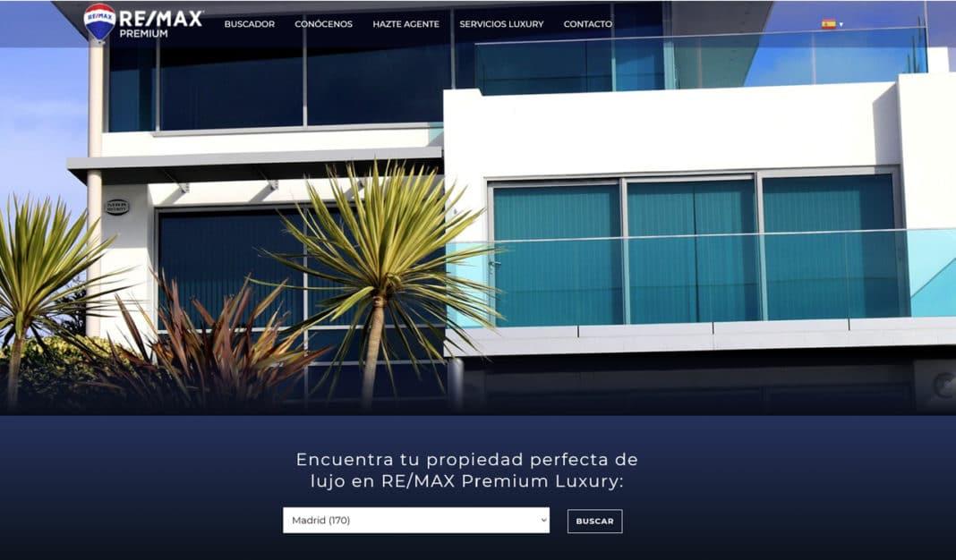 Re/max nueva web inmobiliaria Villaviciosa de Odón
