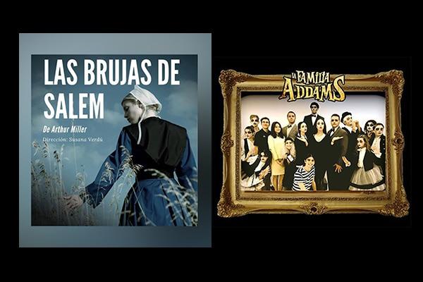Llega «La Familia Addams» y «Las brujas de Salem», este sábado en el Coliseo