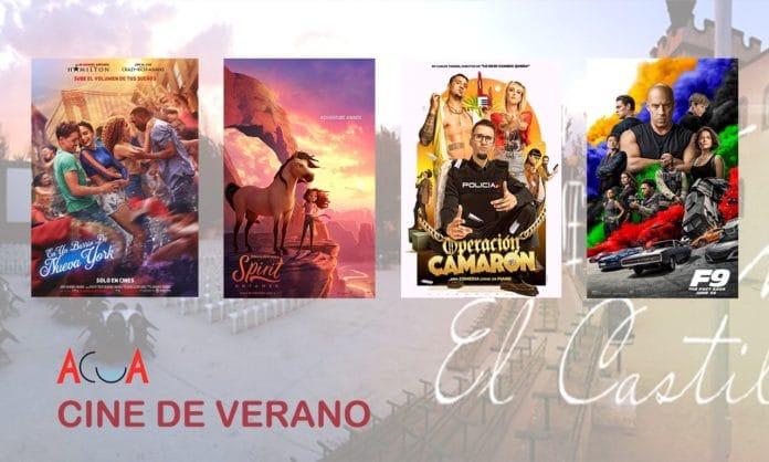 programación cine de verano