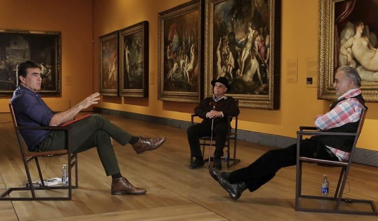 Carlos Franco y Alberto García-Alix inauguran «Diálogos nuevos de la pintura»