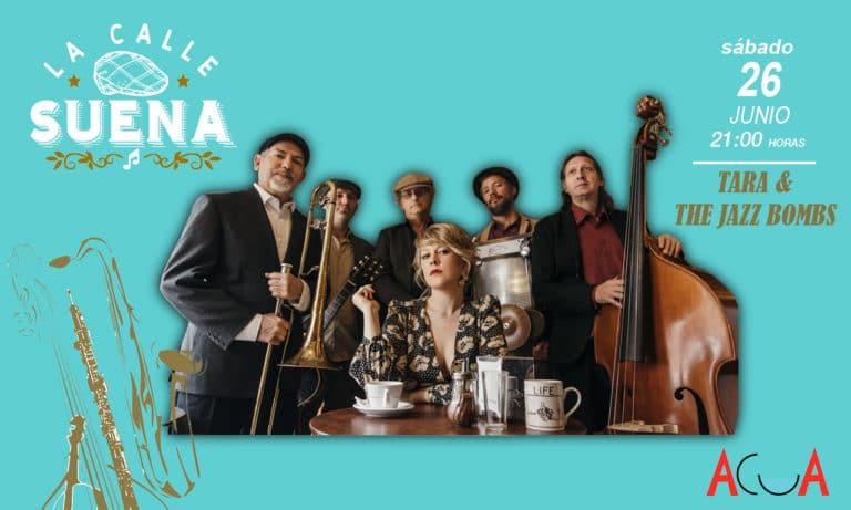 Llega la banda «Tara & The Jazz Bombs» a Villaviciosa
