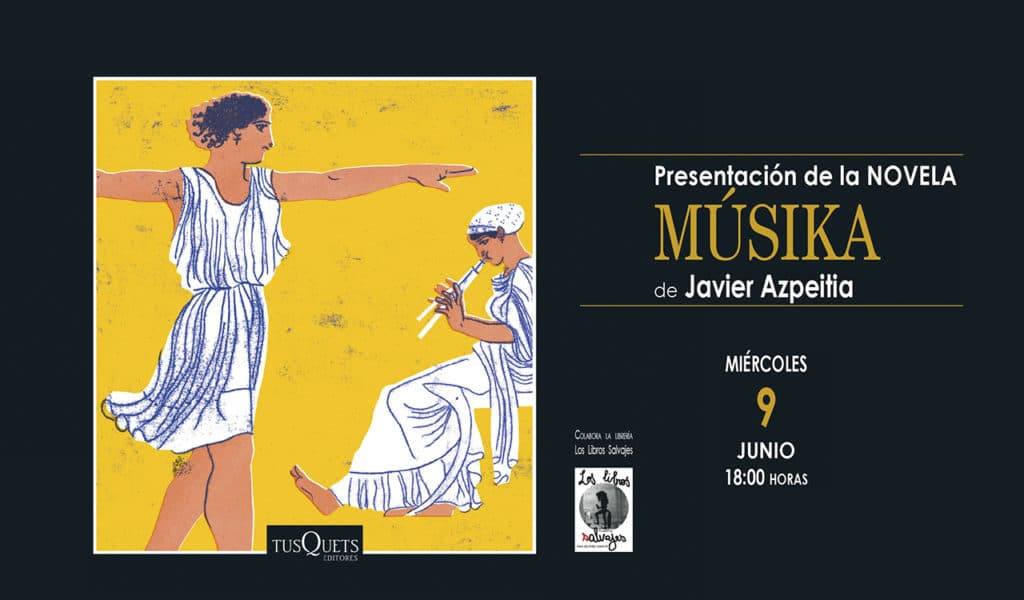 Musika Javier Azpeitia los libros salvajes