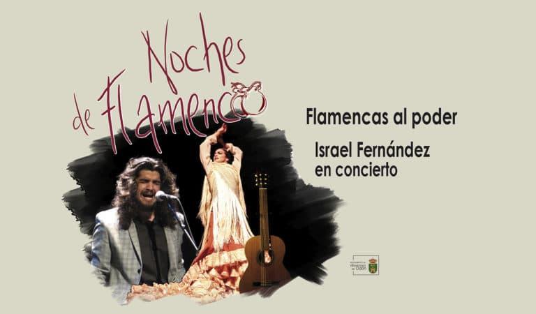 Israel Fernández en concierto, este sábado en el Coliseo
