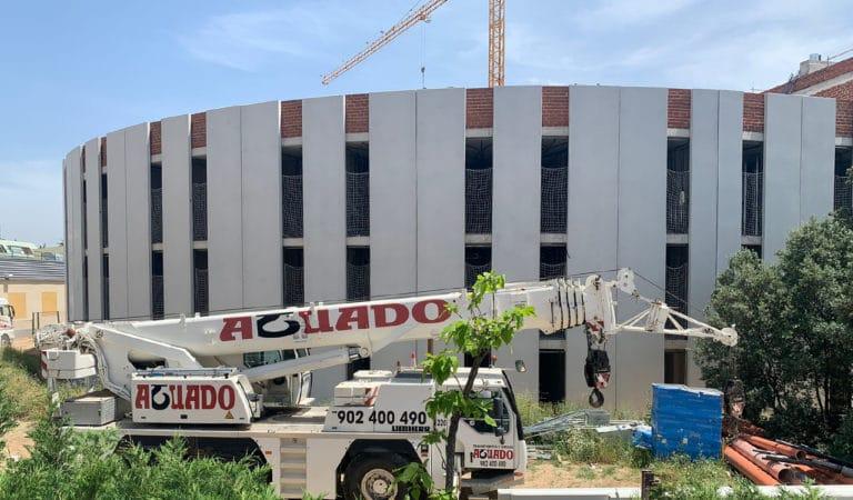 Se paraliza la construcción de la futura residencia de estudiantes