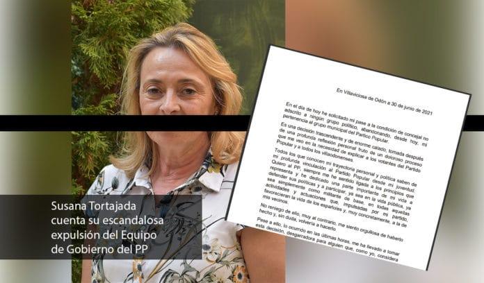 Susana expulsada del equipo de gobierno