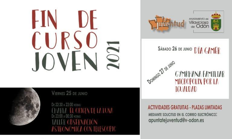 Llega el evento «Fin de curso JOVEN», este fin de semana en Villaviciosa