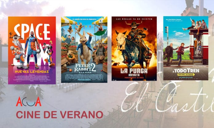 `rpgramación de la semana cine de verano