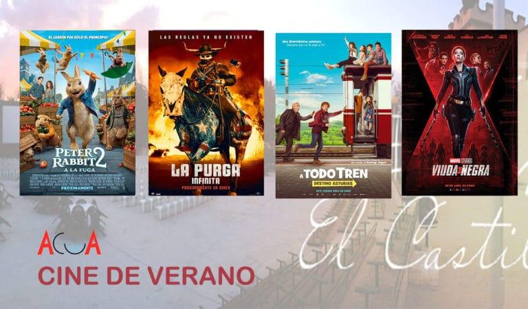 CINE DE VERANO (del 13 al 18 de julio): esta es la programación de la semana