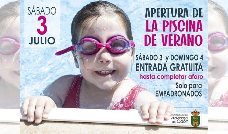 La piscina de Villaviciosa establece el acceso gratuito para empadronados este fin de semana