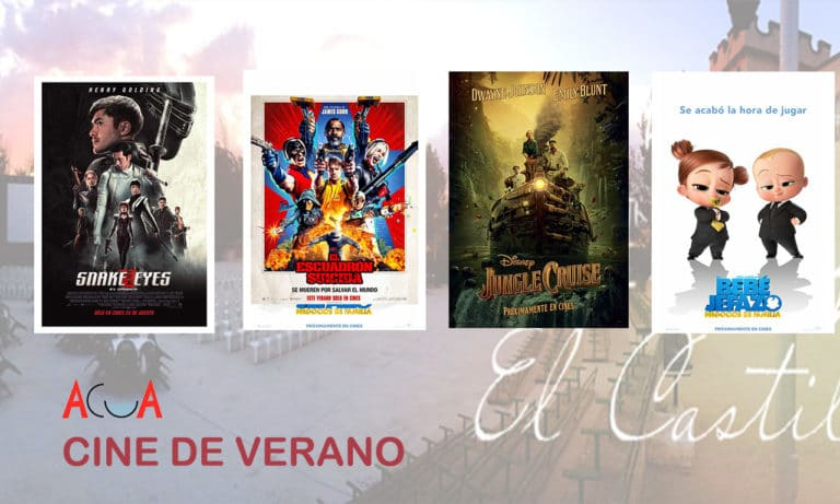 CINE DE VERANO (del 9 al 15 de agosto): esta es la programación de la semana