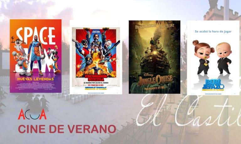CINE DE VERANO (del 2 al 8 de agosto): esta es la programación de la semana