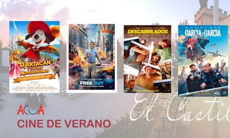 CINE DE VERANO: la programación de la semana