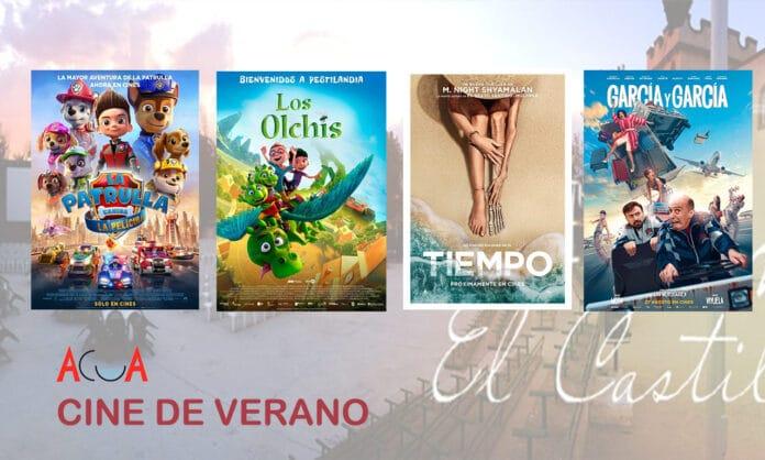 programación cine de verano Villaviciosa