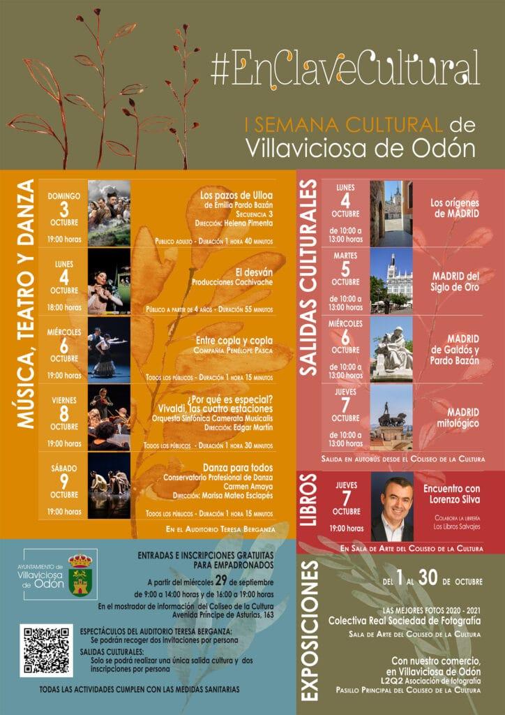actividades culturales Villaviciosa octubre