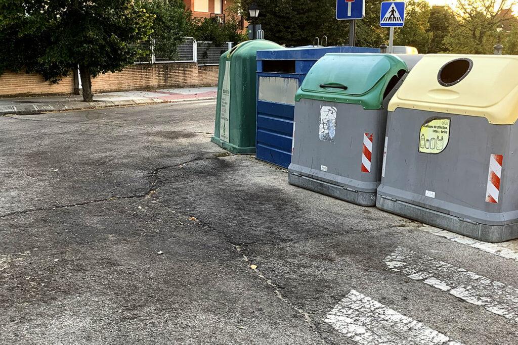 parque bubos basura