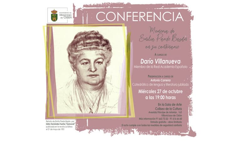 Memoria de Emilia Pardo Bazán en su centenario
