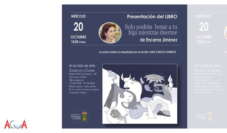 La villaodonense Encarna Jiménez presenta su último libro
