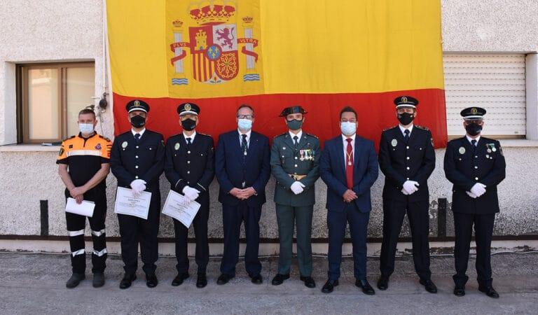 Villaviciosa celebró así el día de la Fiesta Nacional